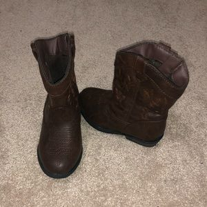Cat & Jack Cowboy Boots Toddler 7